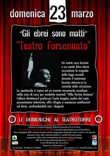locandina spettacolo TEATROFORSENNATO